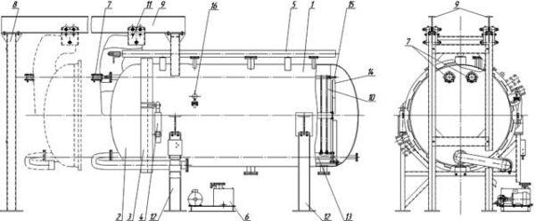 Схема фильтра ГНП